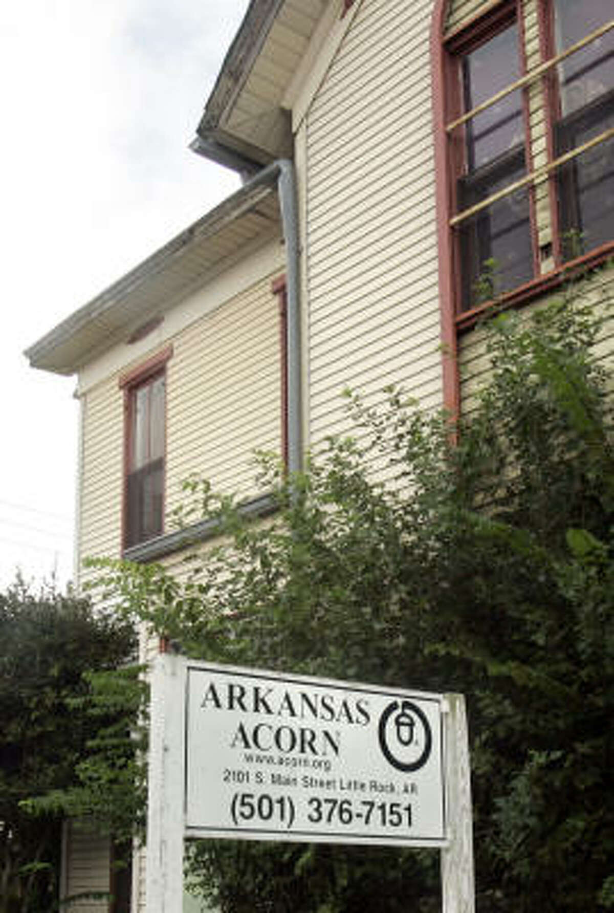 ACORN, Association of Community Organizations for Reform Now, got its start in Little Rock, Ark.