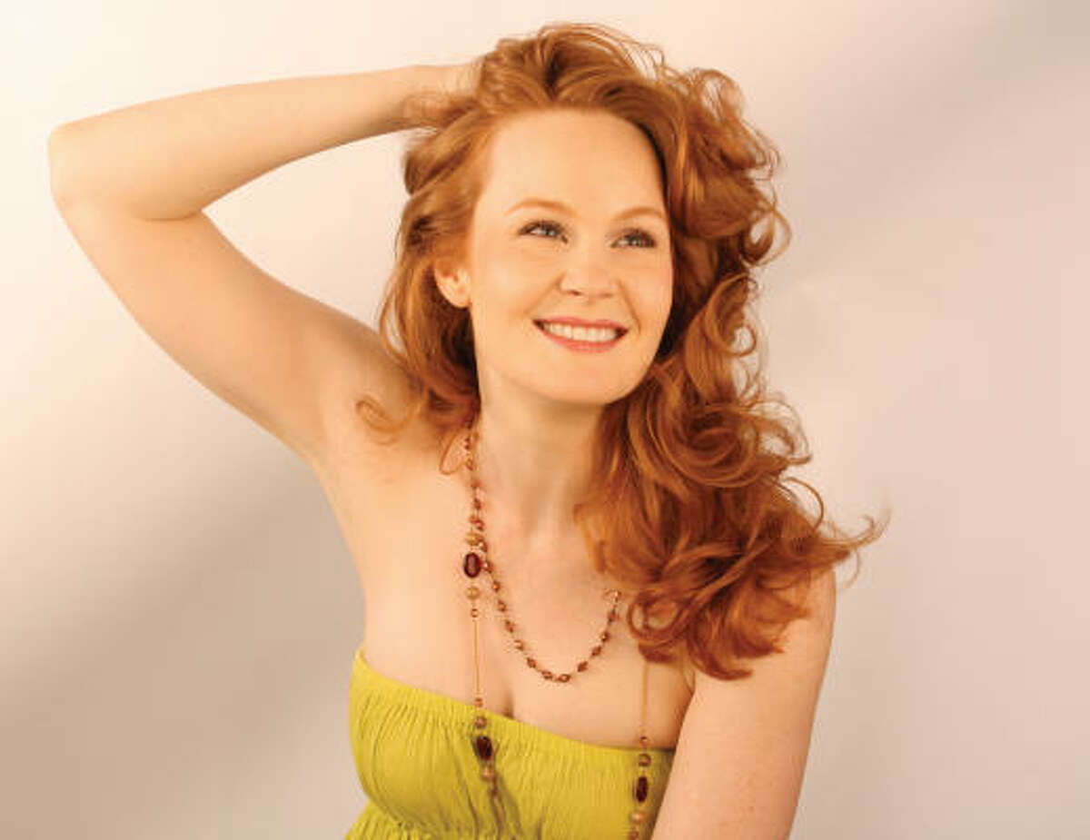 Kate Baldwin first wowed audiences as the Irish immigrant heroine Sharon in the Broadway revival of Finian's Rainbow.