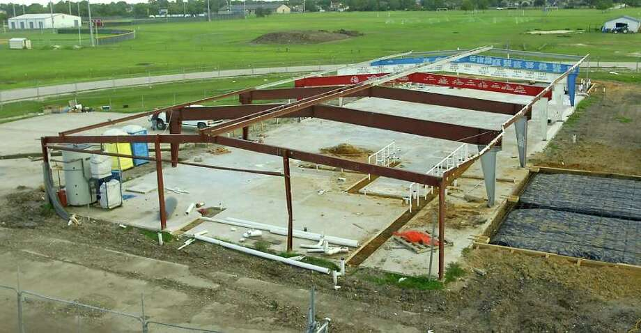A ruling in federal court could determine whether work on new fieldhouse at West Brook High School in Beaumont can continue.  Dave Ryan/The Enterprise Photo: Dave Ryan