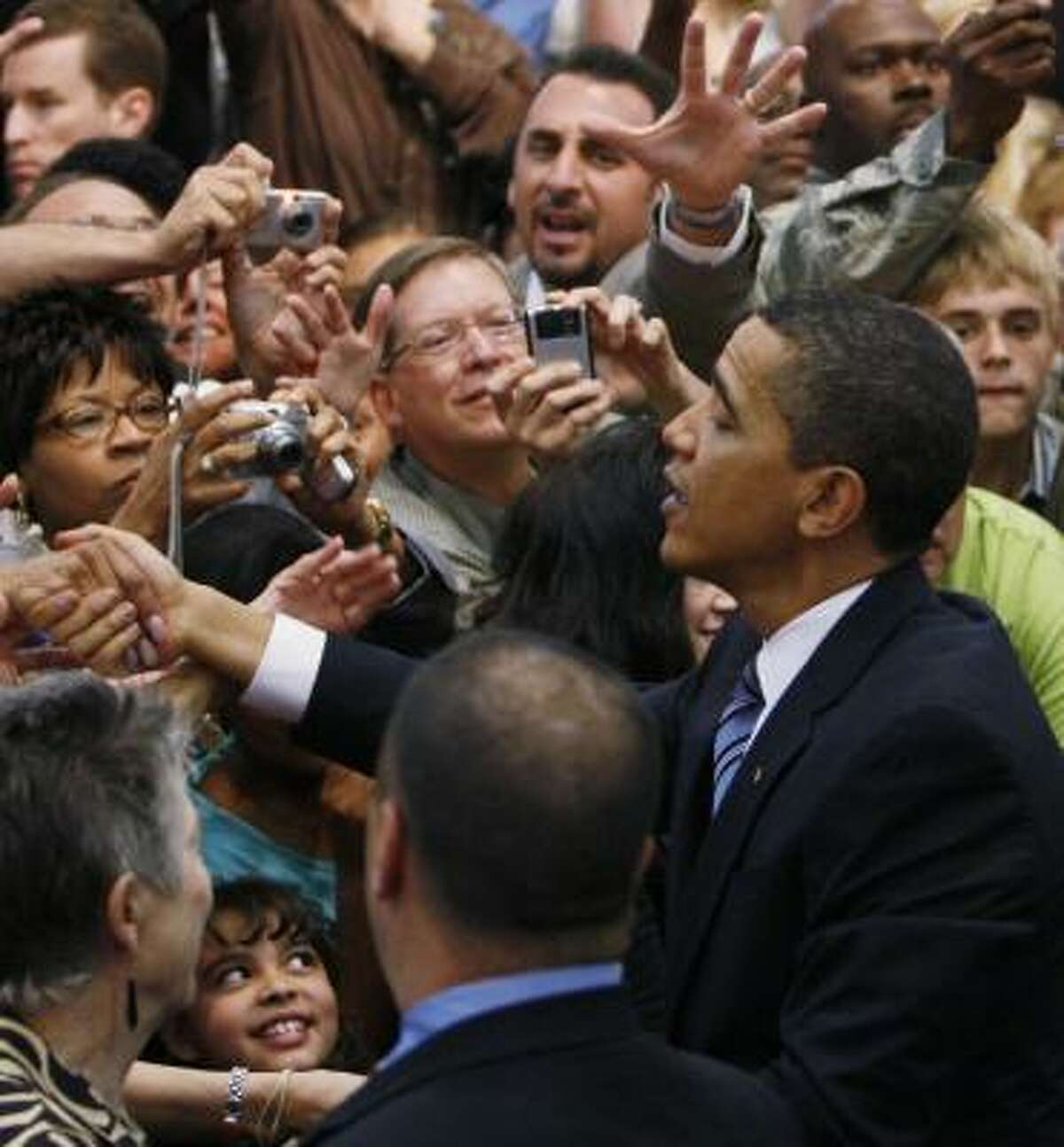 The president made his pitch for credt reform last week at a high school in Rio Ranch, N.M.