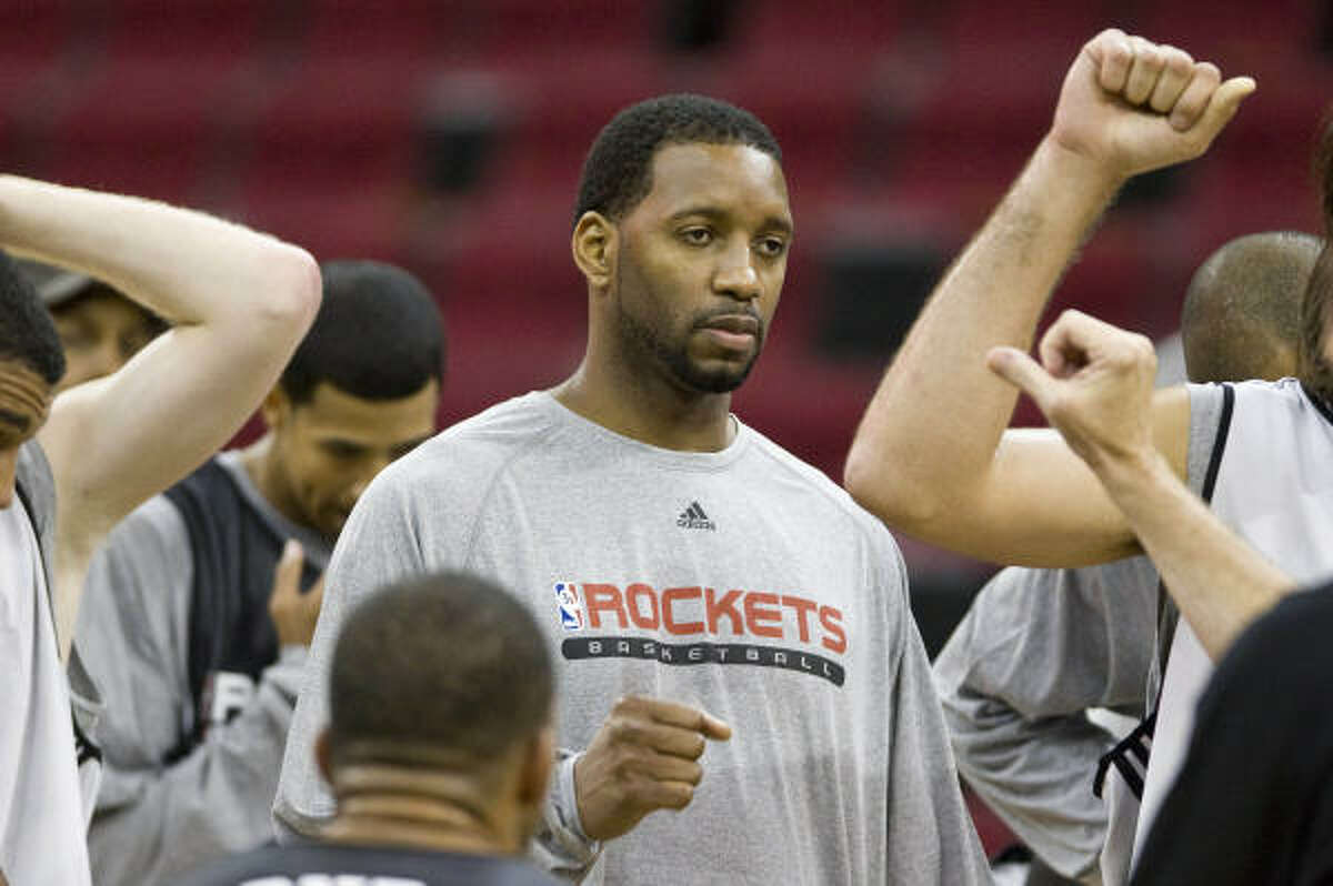 Tracy McGrady was present at Rockets training camp this offseason, but hasn't played since February.