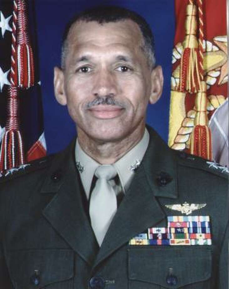 Reports of his name surfacing as a contender for NASA administrator have surprised Charles Bolden Jr., a retired Marine Corps general who made four trips into space. Photo: U.S. Military