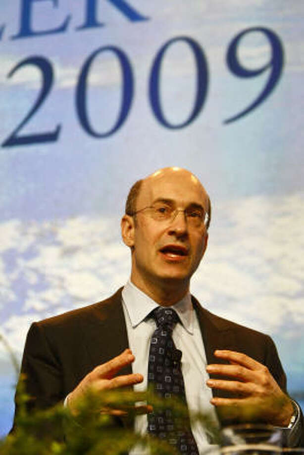 Kenneth Rogoff of Harvard discusses the state of the economy during CERA's Special Economic Forum on the Future of the Global Economy. Photo: MICHAEL PAULSEN, Chronicle