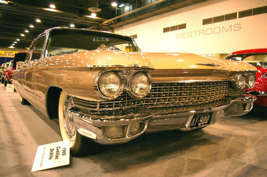"""Heidi likes the lines and """"killer-looking"""" grille of this 1960 Cadillac DeVille, owned by John Prestwood. Photo: HEIDI VAN HORNE"""