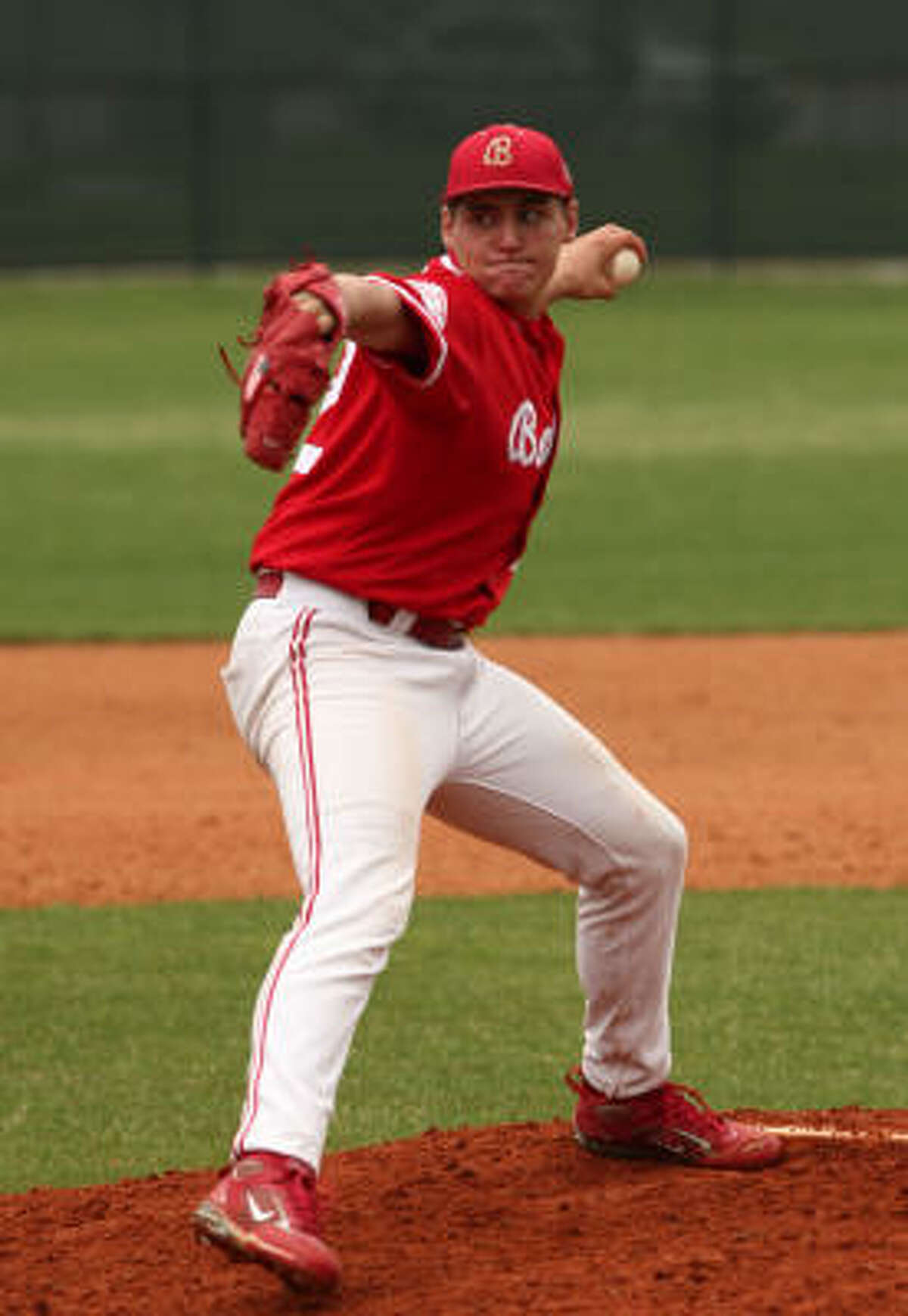 Junior pitcher Toller Boardman was 2-0 on the mound with 10 strikeouts this week, which included a two-hit, seven strikeout performance in a 4-1 win over Westside on Saturday.