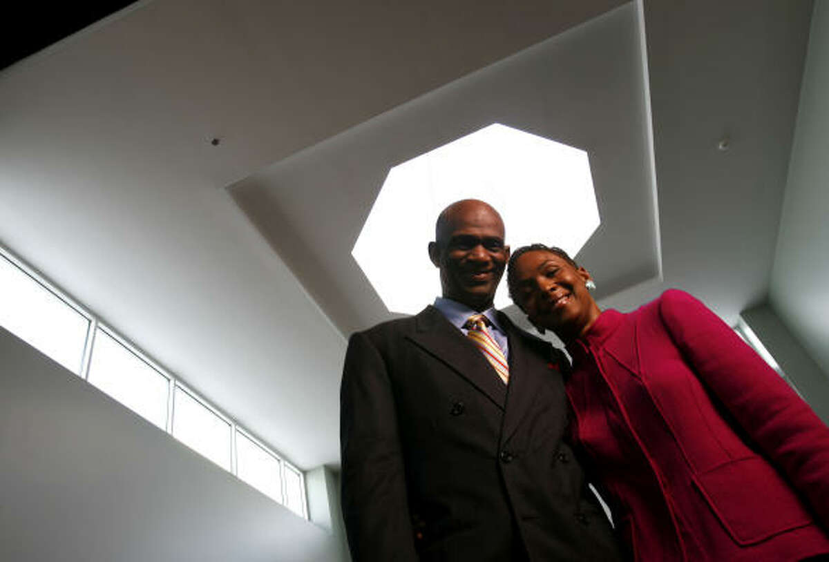 The Rev. Kirbyjon Caldwell and his wife, Suzette, are co-pastors of the Windsor Village United Methodist Church.