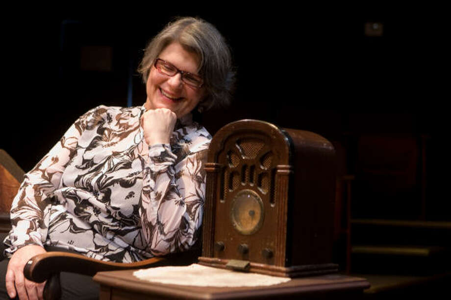 """Rebecca Greene Udden, executive director of Main Street Theater, calls the campaign a matter of """"turning crisis into opportunity."""" Photo: R. Clayton McKee, For The Chronicle"""
