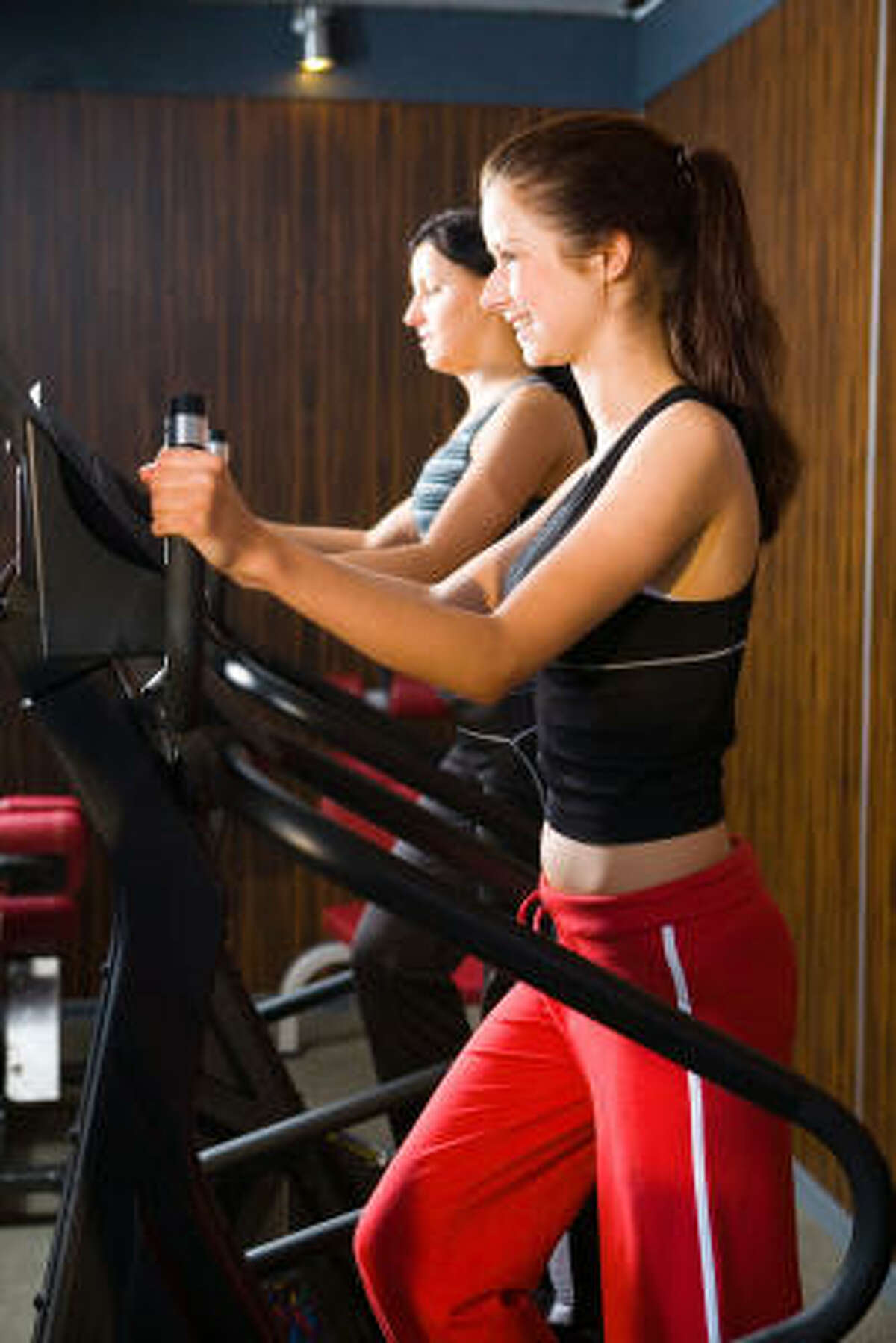 EXERCISE HELPS: Make a regular workout part of a daily job-search routine.