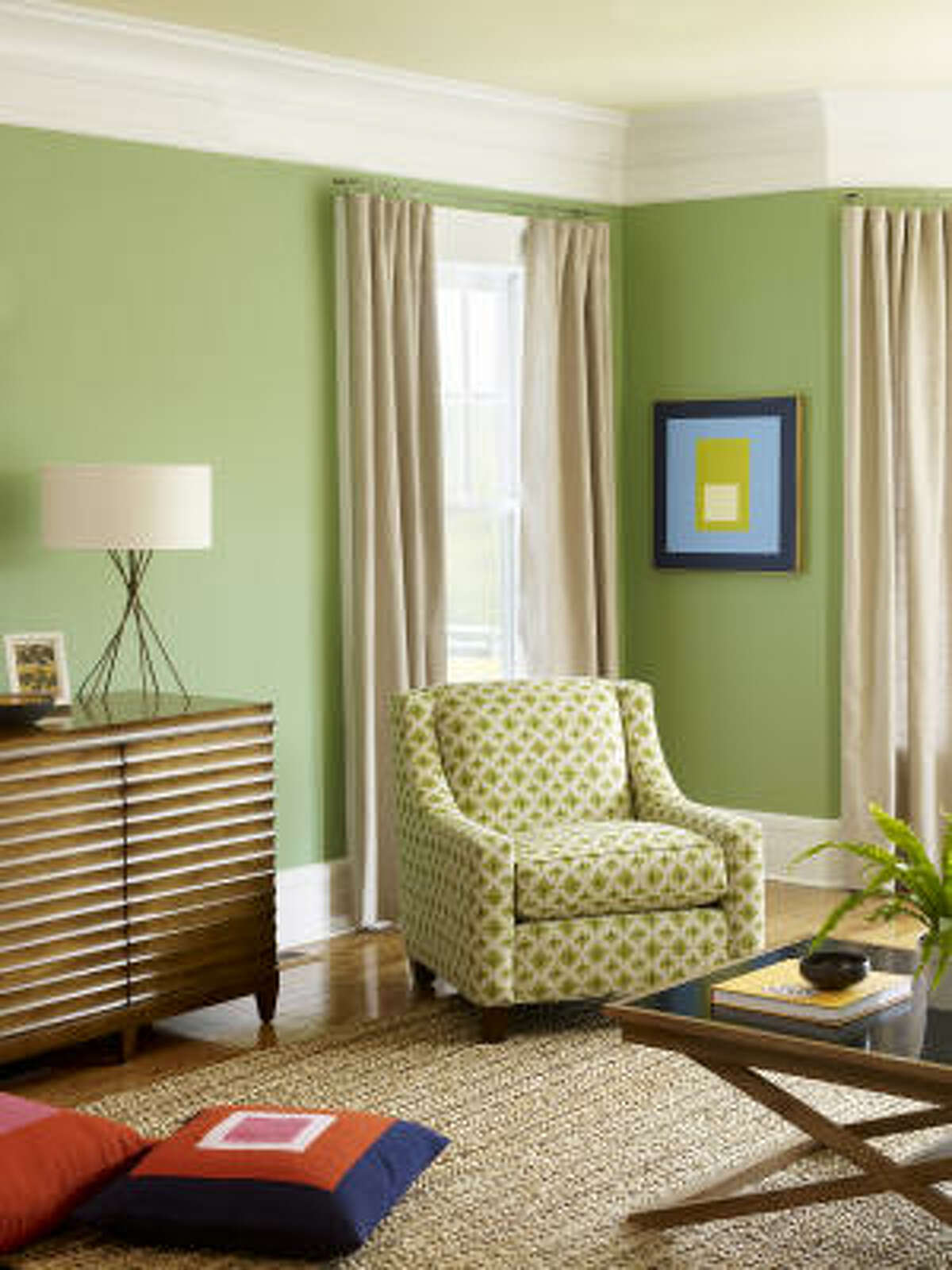 The 2034-40 Cedar Green is the color of spring; of fresh green grass. It is also a reminder of all of the green efforts and initiatives that are taking place that will help the earth. It can be paired with a neutral, for a soft effect, or with a bold or bright color to create interest.