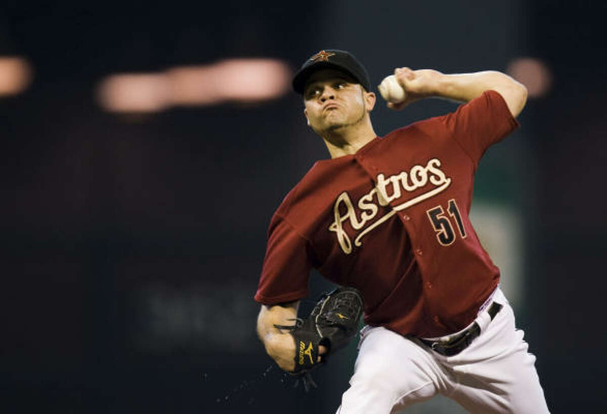 Wandy Rodriguez was tendered along with Hunter Pence, Michael Bourn along five other Astros.