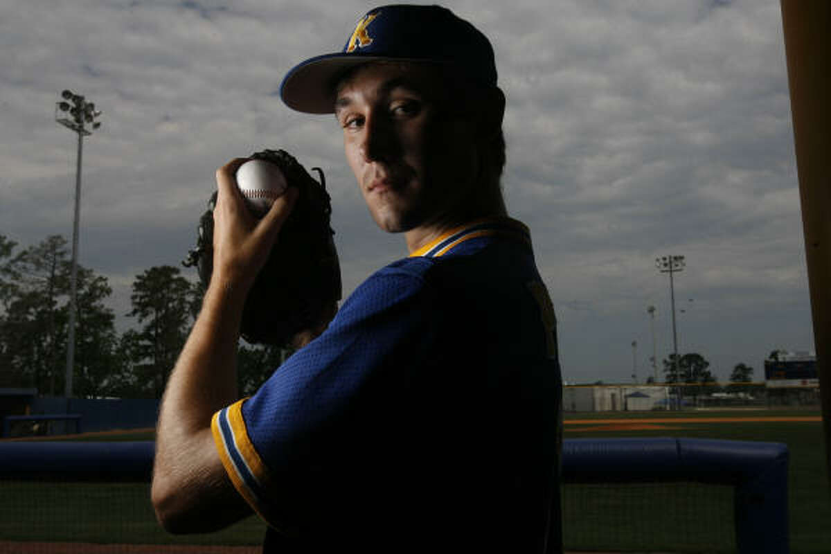 Klein High School pitcher Matthew Purke is as close to a sure thing as there is in the upcoming amateur baseball draft.