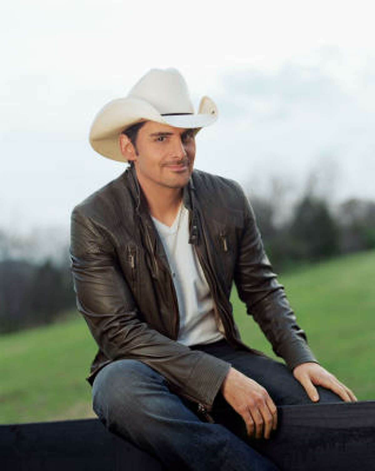 Brad Paisley will perform Friday night at The Woodlands' Cynthia Woods Mitchell Pavilion.