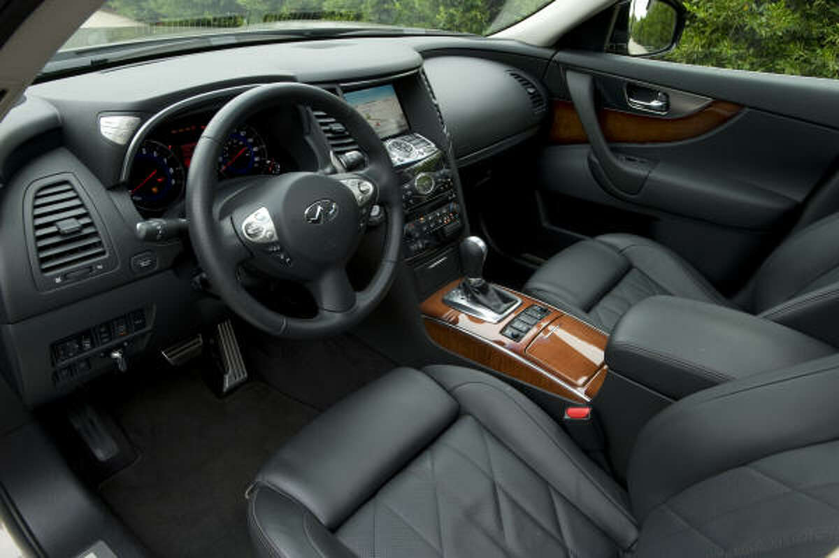 The 2009 FX's interior redesign offers more in the way of comfort and convenience.