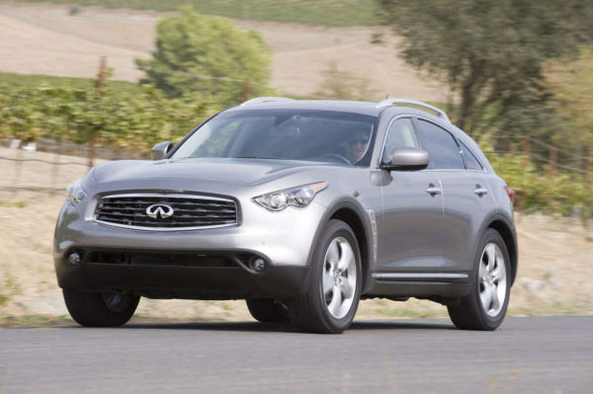 The Infiniti FX body has been completely redesigned for 2009.