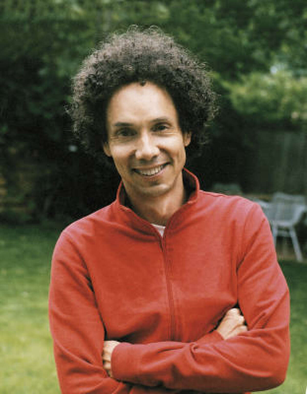 Journalist Malcolm Gladwell, whose books include Outliers: The Story of Success and Blink.
