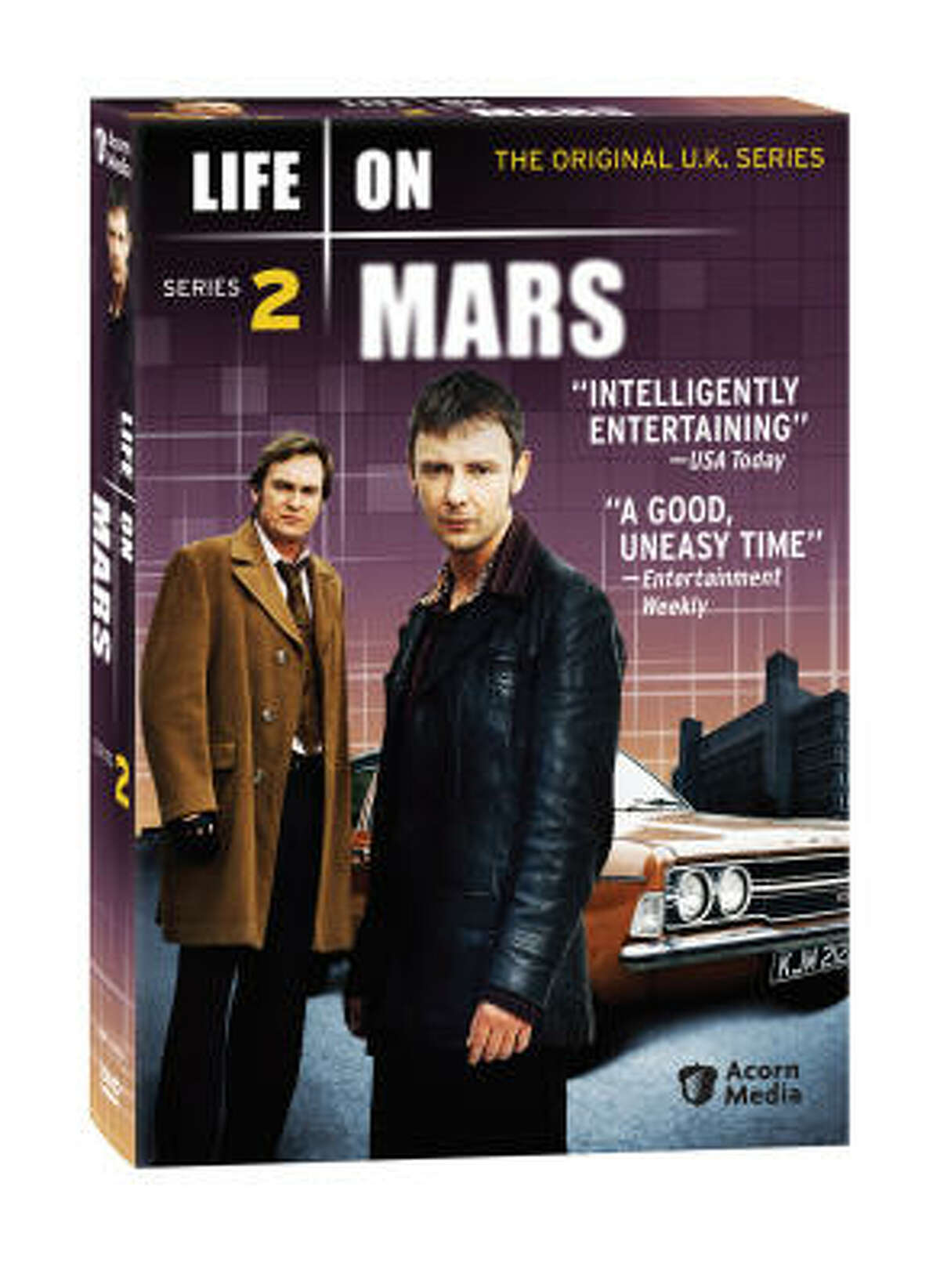 The BBC version of Life on Mars comes with plenty of extras.