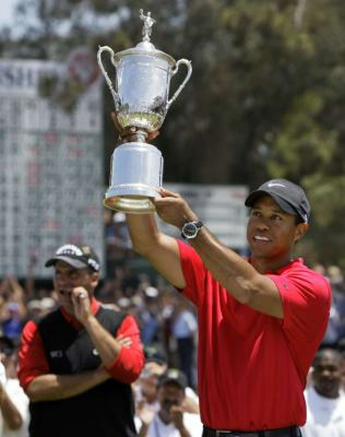 America watches Tiger Woods for his immense talent as a golfer, not his personal habits, Jerome Solomon writes.