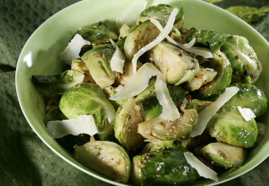 Italian-Style Brussels Sprouts Photo: TAMMY LJUNGBLAD :, KANSAS CITY STAR | MCT