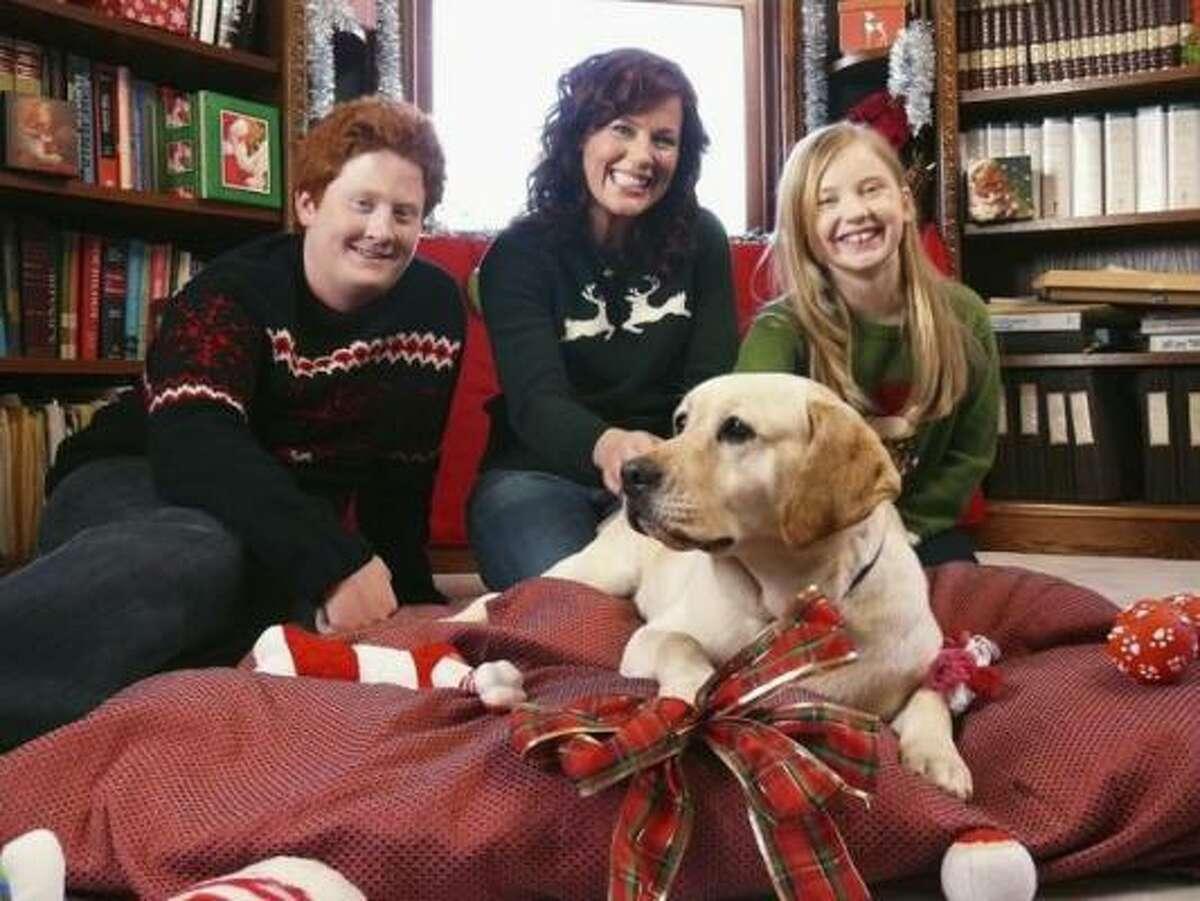 Charlie Stewart, from left, Elisa Donovan and Sierra McCormick star in