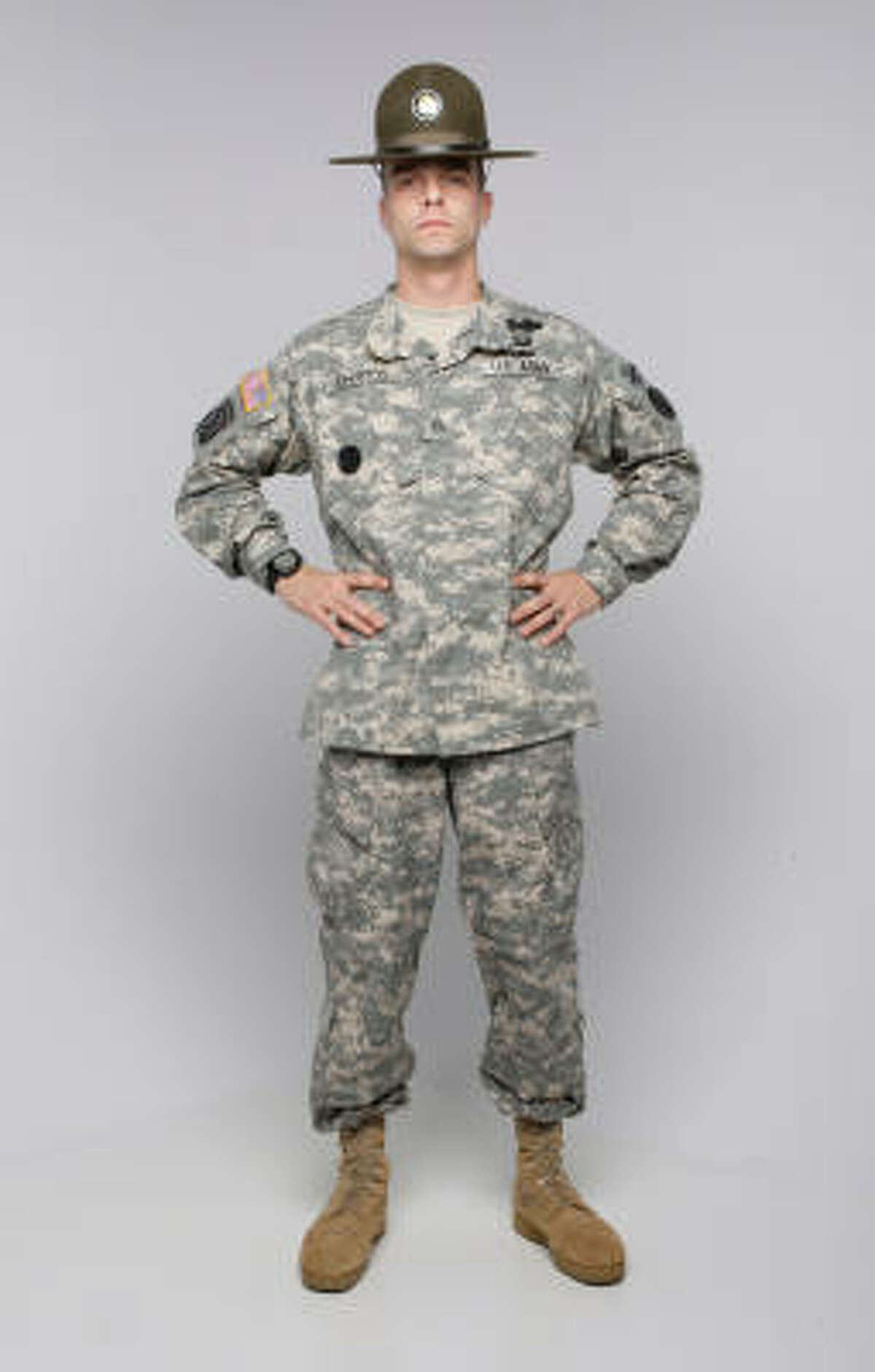U.S. Army Drill Sergeant of the Year Michael Johnston wants you to shape up now.