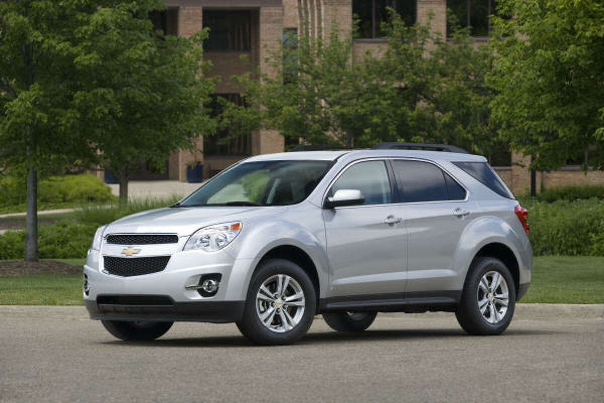 Chevrolet's Equinox is among the fresh GM introductions that boast excellent fuel economy.