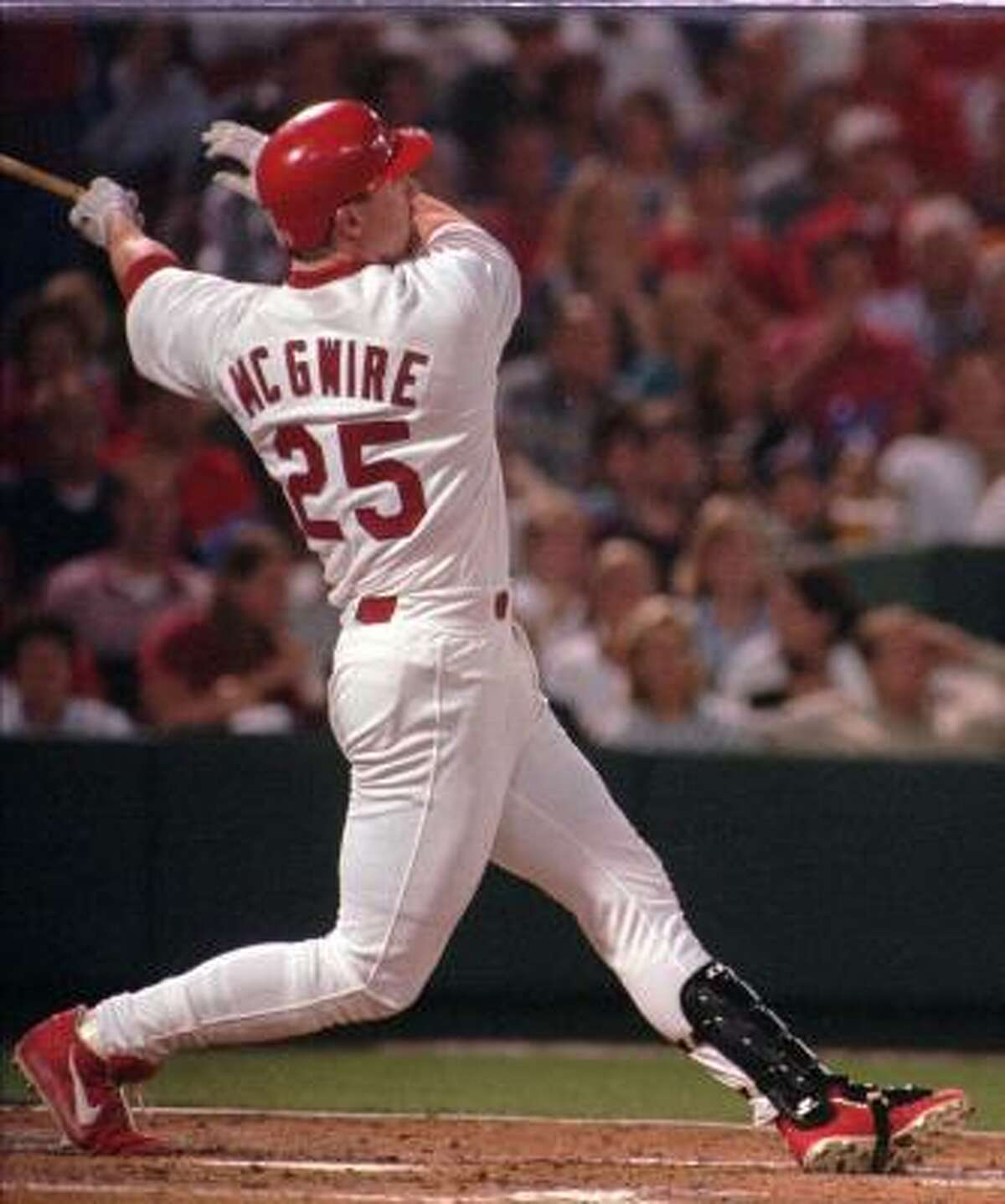 Mark McGwire set a record with 70 home runs in 1998 but has since become a central figure of the steroid investigation.