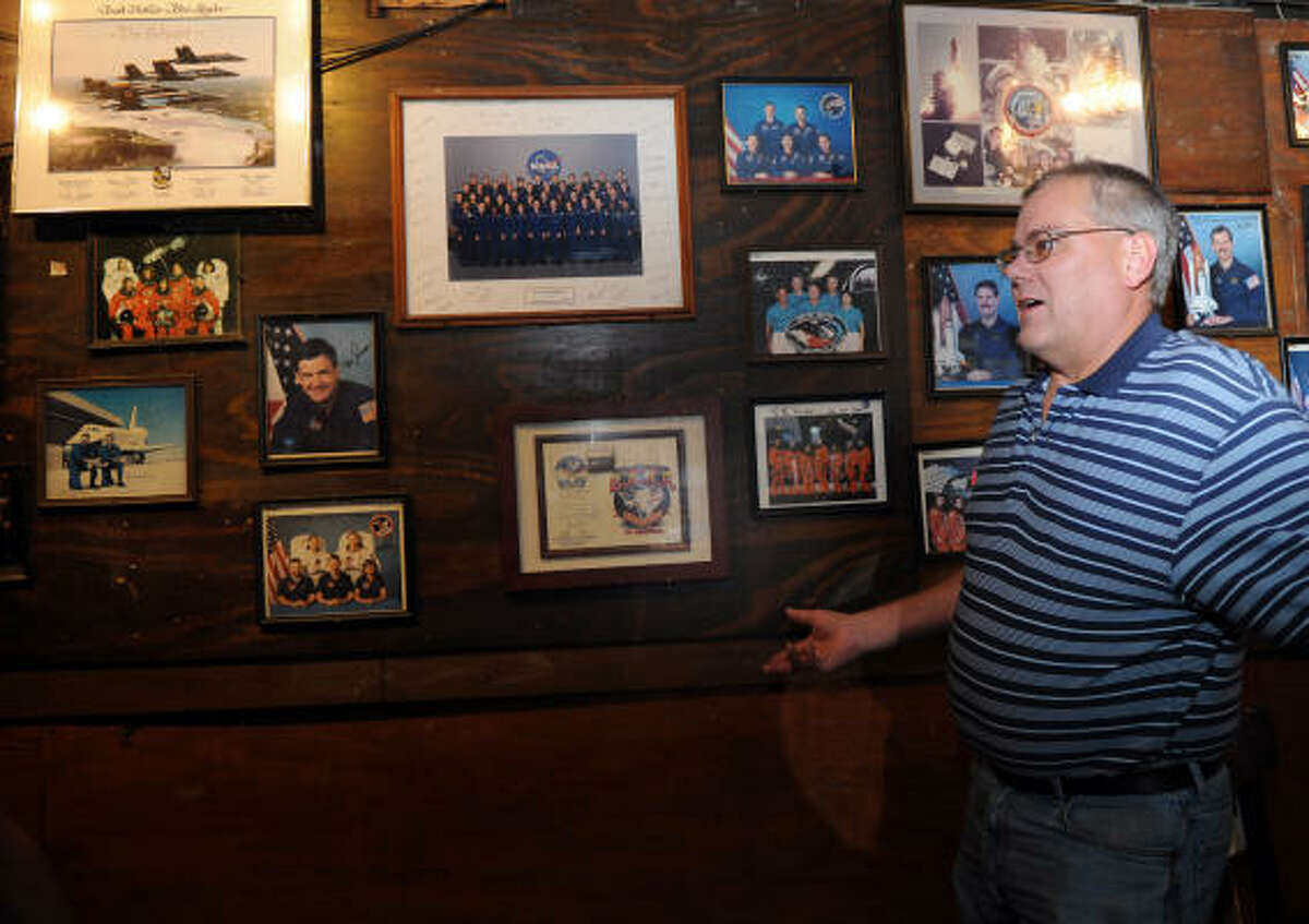 HISTORIAN: Roger Mitchell talks about the Outpost Tavern.