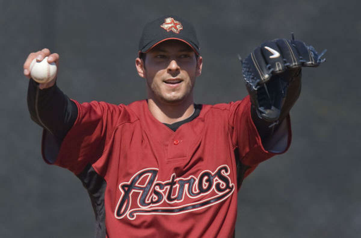 Some, like Clay Hensley, will take advantage of the Astros' depleted farm system and stay in contention for positions that may open up during the season.