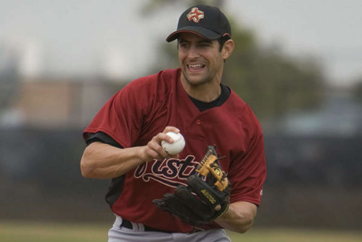 Matt Kata was one of five veterans in the Astros' camp assigned to the minor leagues.
