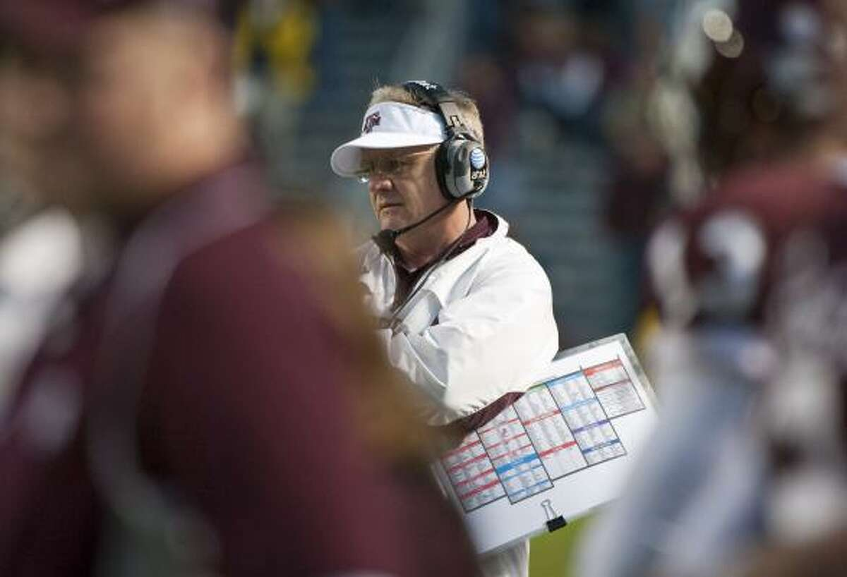 Texas A&M coach Mike Sherman plans to take advantage of the added practice time a bowl game affords.