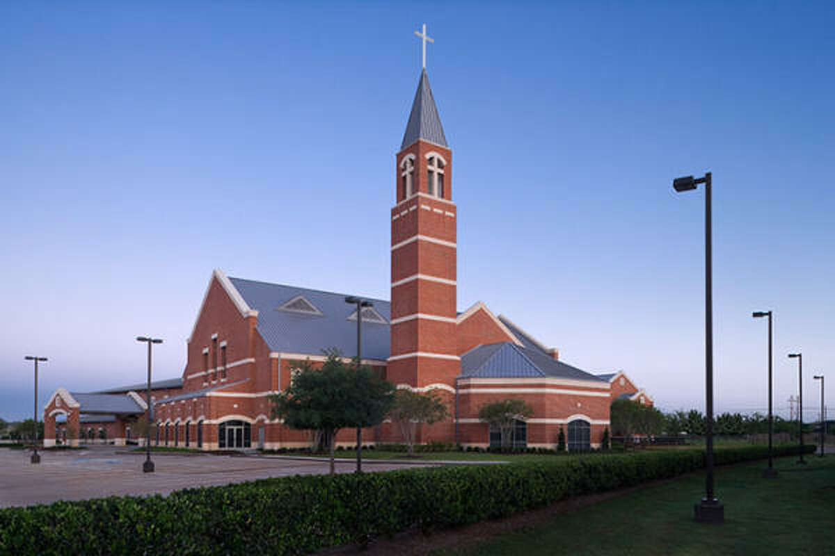 A recently completed expansion project at First Colony Church of Christ in Sugar Land includes a 145-foot bell tower.