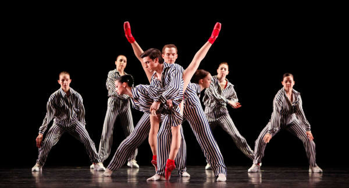 Houston Ballet's Joe Walsh and Emily Bowen are among the featured performers in the company premiere of Twyla Tharp's