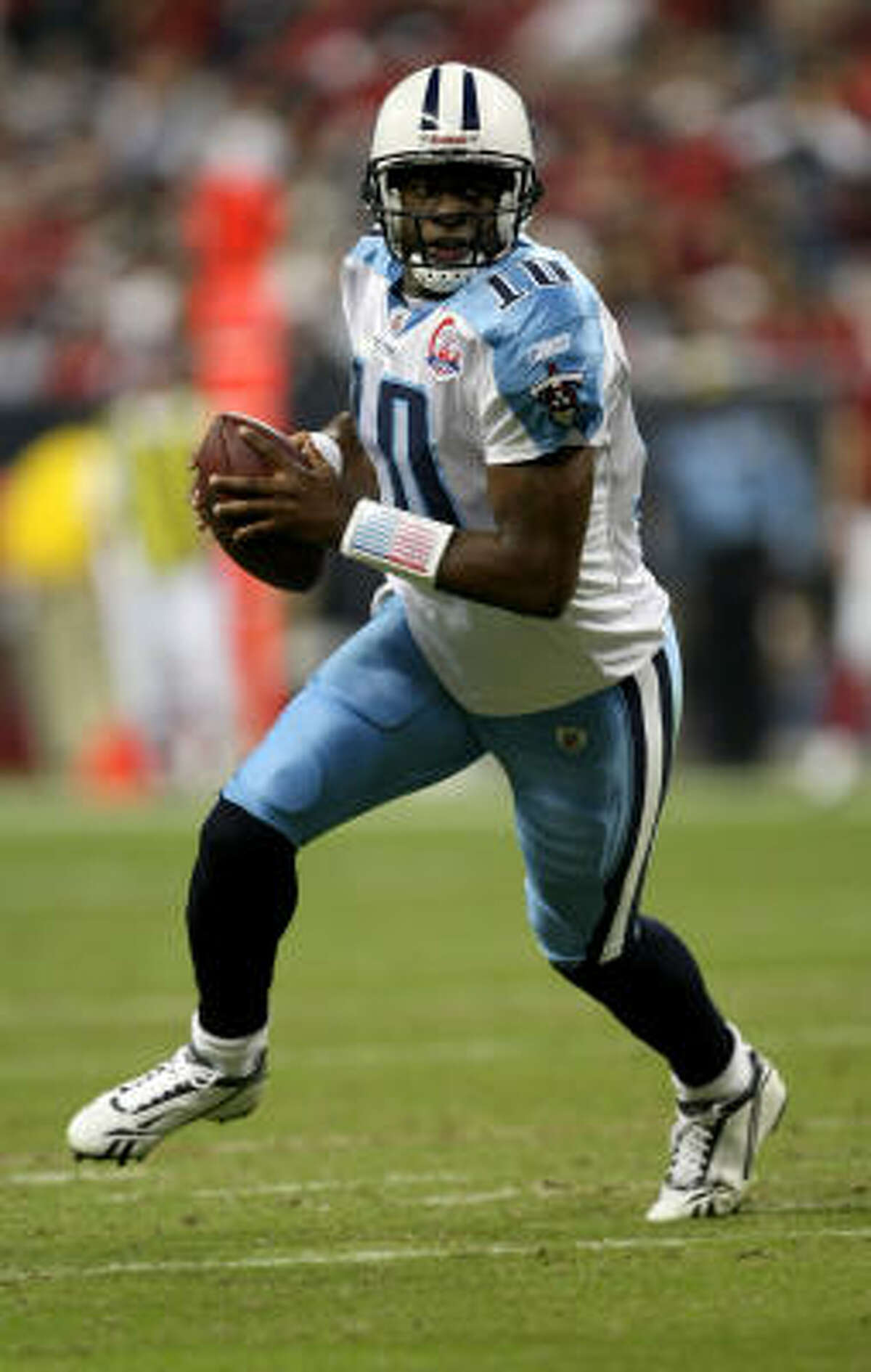 The Titans kept possession for more than 18 minutes in the second half.