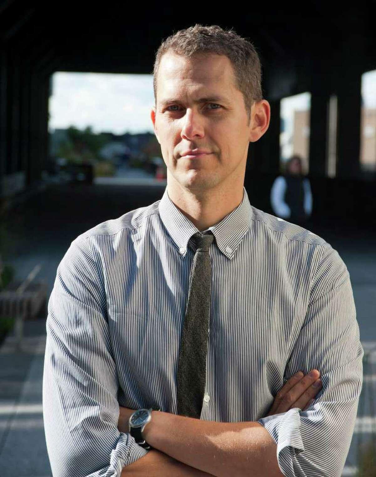 San Antonio native Robert Hammond is co-developer of the High Line park in New York.