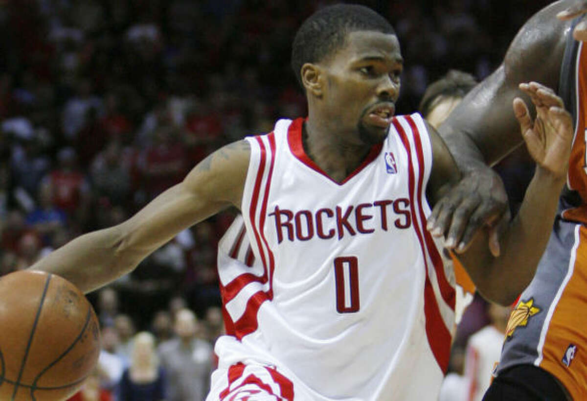 There has been an increase in fast-break scoring since the trade deadline made Aaron Brooks the starting point guard.