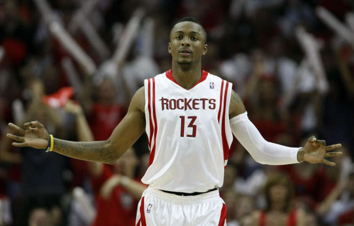 Facing the Lakers, who drafted him in 2005, has brought out the best in Rockets guard Von Wafer. He is averaging 16.7 points in three games against Los Angeles this season.