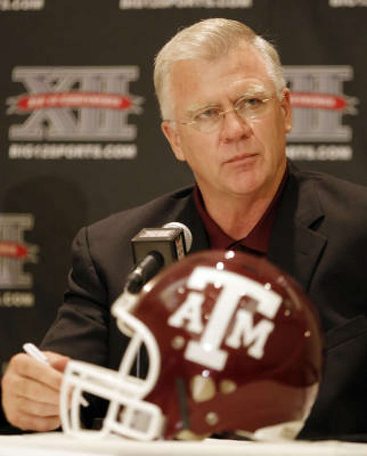 The Aggies went 4-8 in 2008, coach Mike Sherman's first season in College Station.