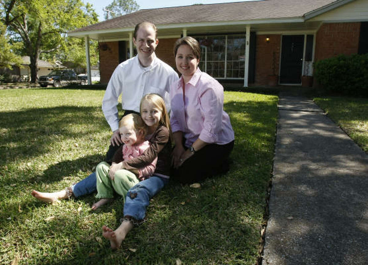 The Winston family plans to sell their Meyerland home and rent a house in order to pay off their debt during the recession.