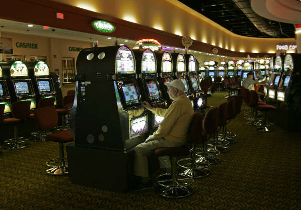 Proponents of video lottery terminals say they would keep much of the money spent by Texans on gambling from leaving the state.