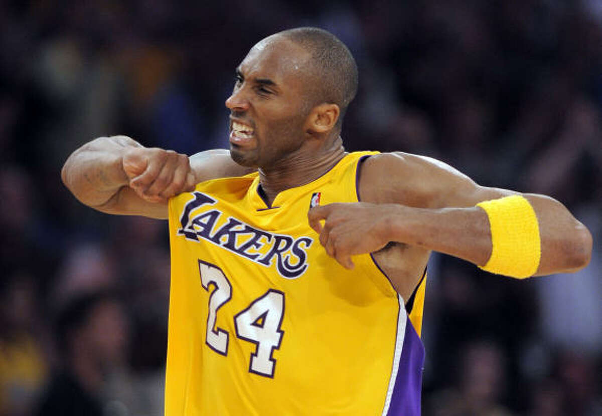 The Rockets will have their hands full with Kobe Bryant, who has had great fourth quarters against them.