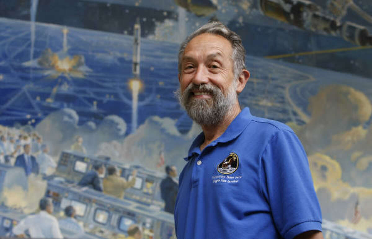 John Jurgensen, who still works for NASA, was 24 when he helped Apollo 11 land on the moon in 1969.