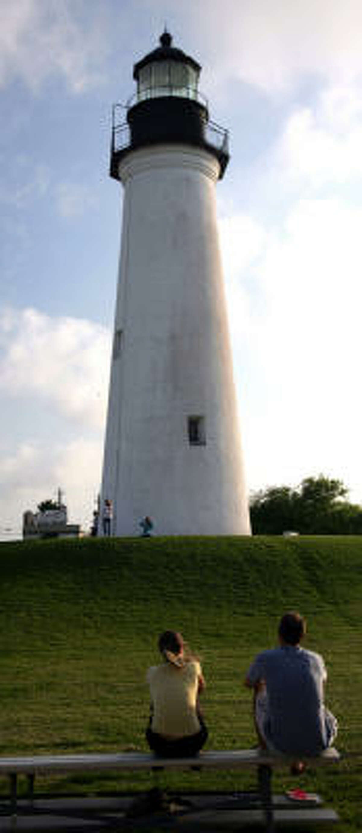 The Port Isabel Lighthouse is open to the public.