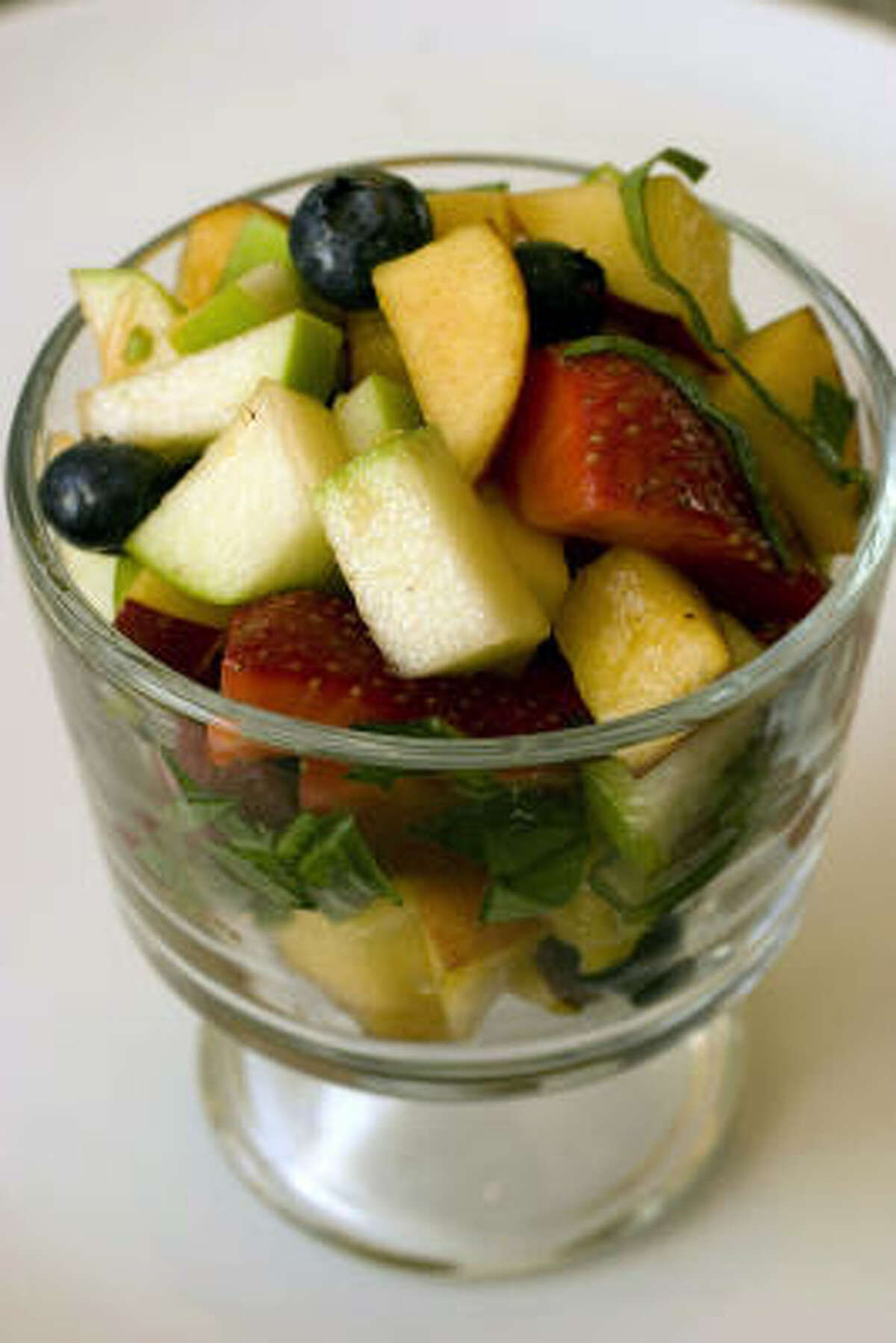 For patients dealing with side effects of chemotherapy, a crunchy fruit salad may hit the spot.