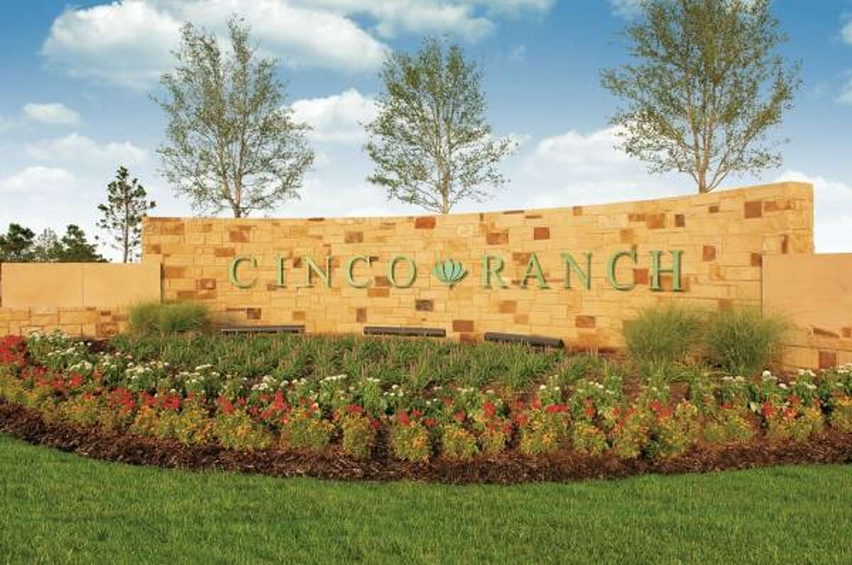 3RD ONE THIS YEAR: A Greater Houston Builders Association Benefit home is being constructed on a homesite in the 7,600-acre community of Cinco Ranch. The developer of Cinco Ranch, Newland Communities, donated the site.