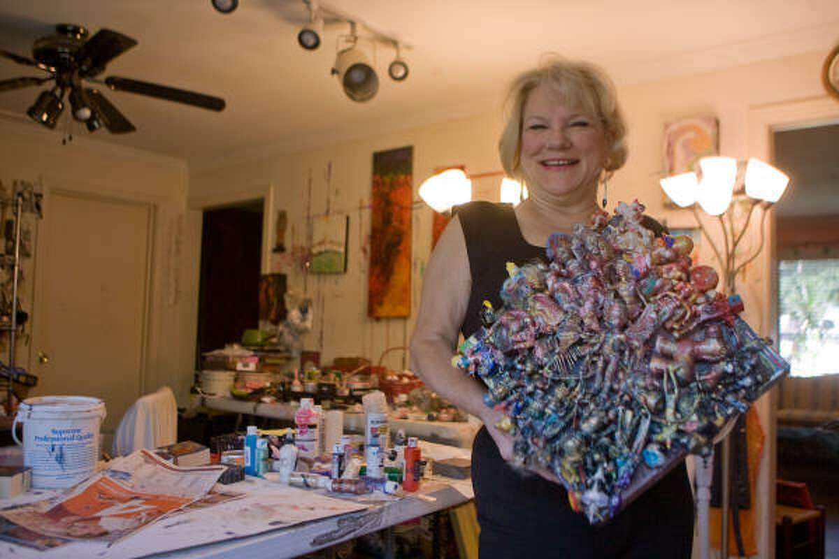 Salli Babbitt will donate three works, including