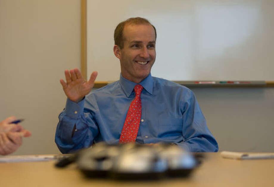 David Crane runs NRG, the No. 2 electric power producer in Texas. Photo: Sharon Steinmann, Chronicle File
