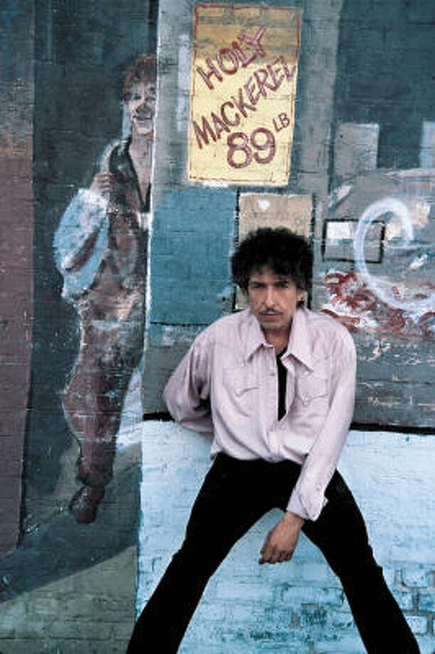 Bob Dylan's album covers have provided some iconic images over the years, whether it's a photo of the singer or art he helps choose. Photo: BLOOMBERG NEWS