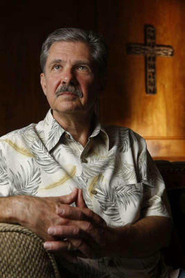 """Kent Whitaker, whose book """"Murder by Family"""" is out in paperback, forgave his wife and one son's killer the night of the murders, before he knew his other son had planned the slayings. Photo: JULIO CORTEZ:, CHRONICLE"""