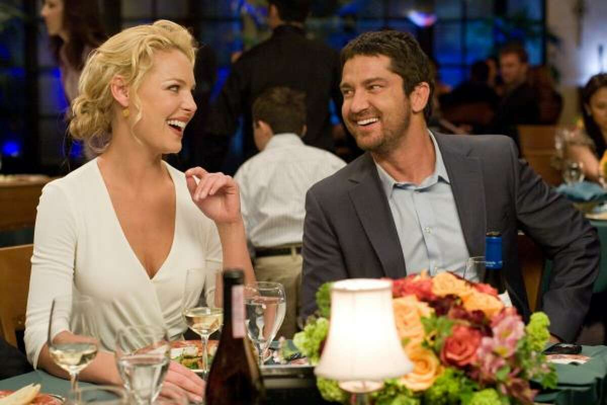 Gerard Butler and Katherine Heigl star in The Ugly Truth.
