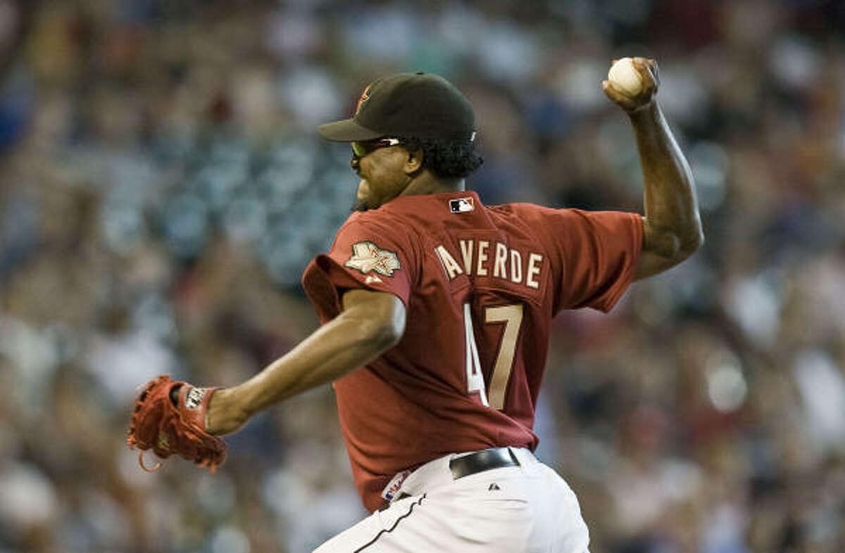 Astros closer Jose Valverde has a career-best 1.88 ERA and 23 saves this season.